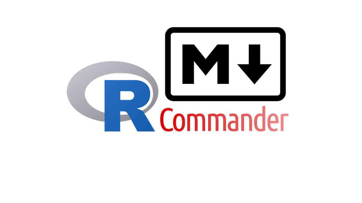 Générer un rapport Markdown avec R Commander