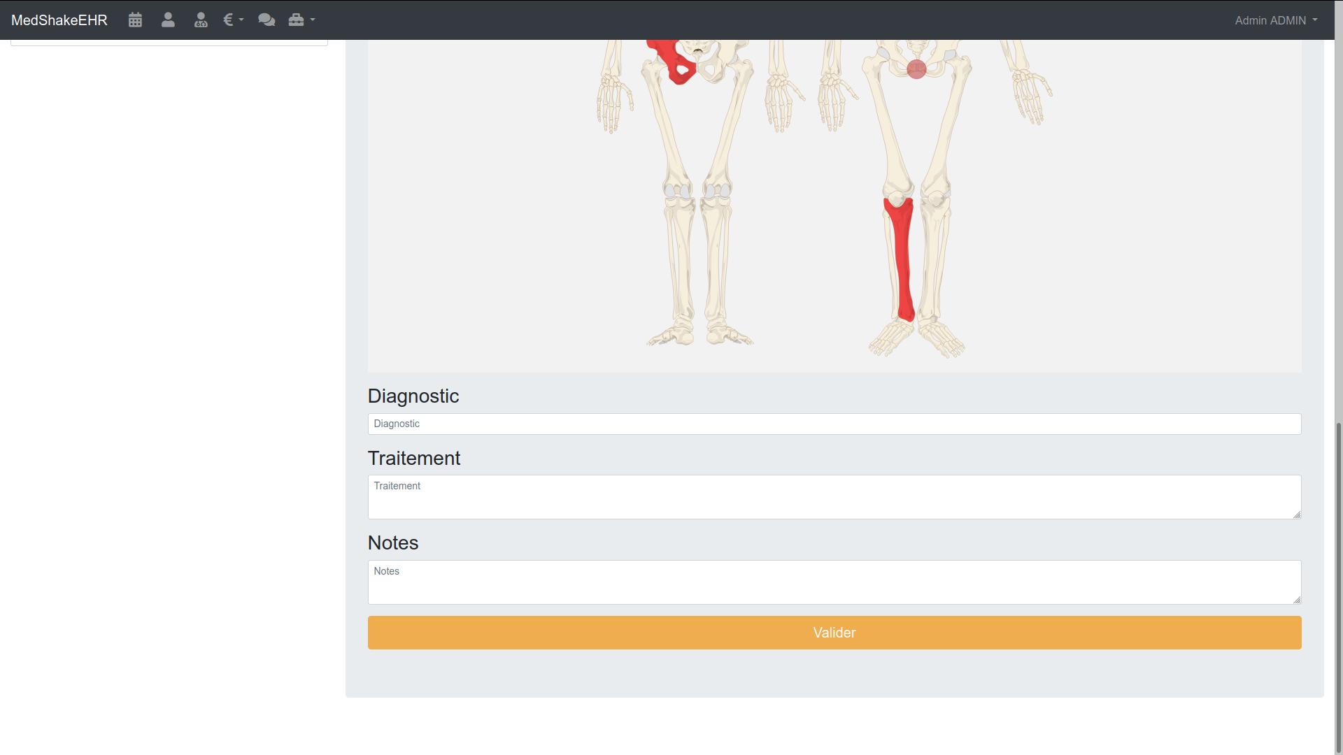 Formulaire pour ostéopathe 3